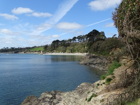 Helford River and Grebe Beach
