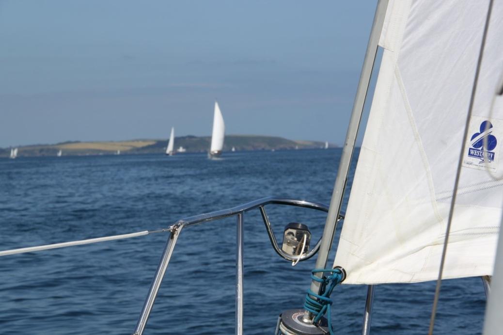 Sailing in Falmouth Bay