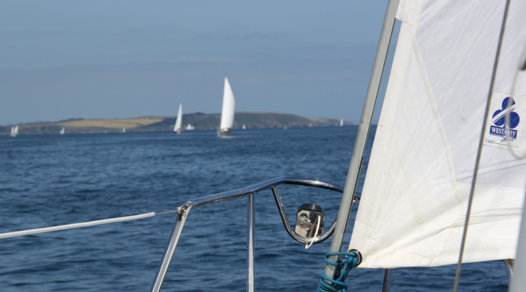 Sailing in Falmouth Bay