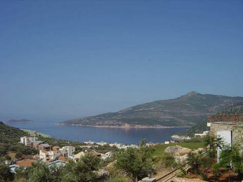 View over Kalamar Bay