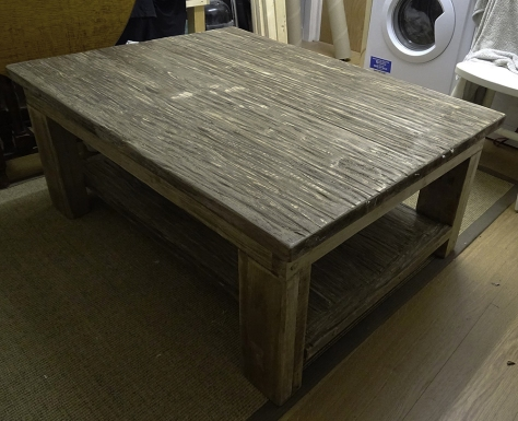 A very disappointing driftwood coffee table